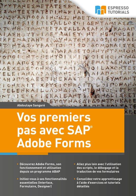Vos premiers pas avec SAP Adobe Forms